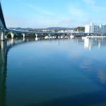 帰帆橋から撮影